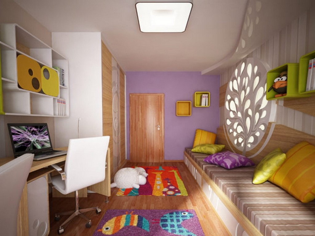 """Комнаты для детей 9 лет фото """" современный дизайн."""