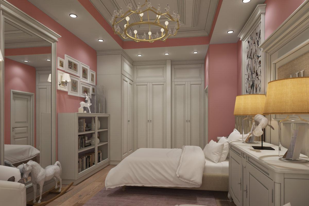 Appartement met twee slaapkamers in een elitehuis meter stilte
