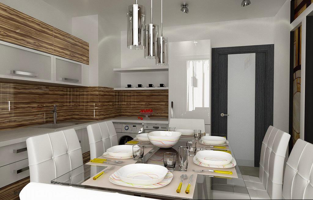 Hoe de keuken te combineren met de woonkamer: een competente