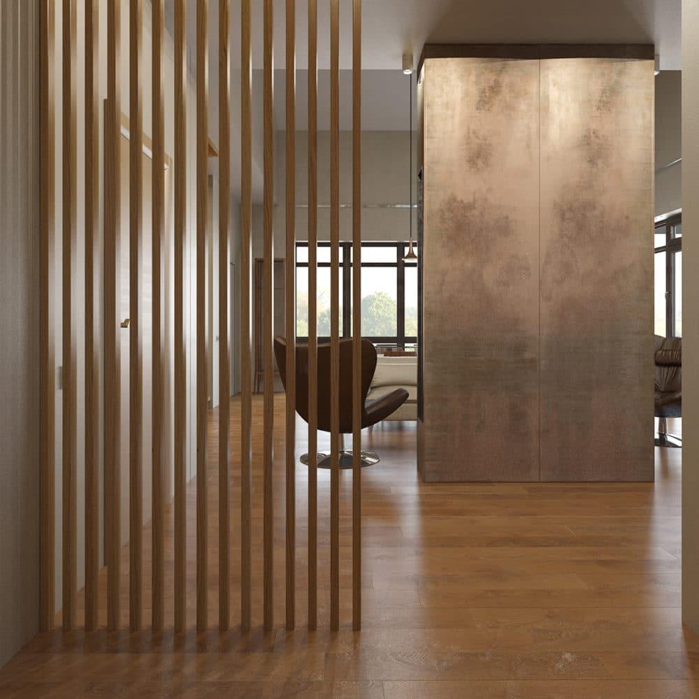 Ecohouse im modernen europ ischen stil for Minimalismus im haus