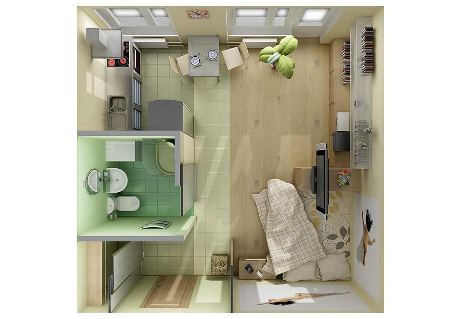 15 klas layouts kleine appartementen