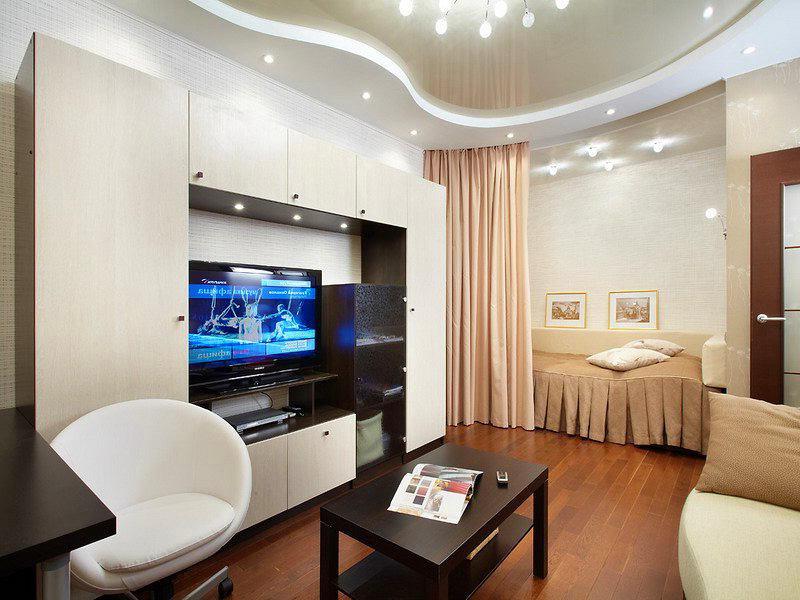 Комната с углублением дизайн