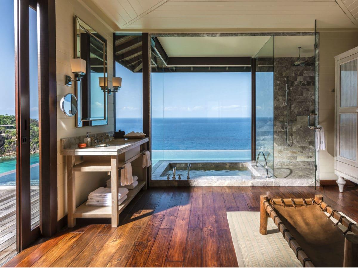 De meest luxe badkamers in de beste hotels ter wereld
