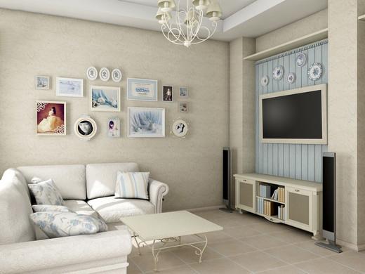 Stylizacja I Dekorowanie ścian W Salonie