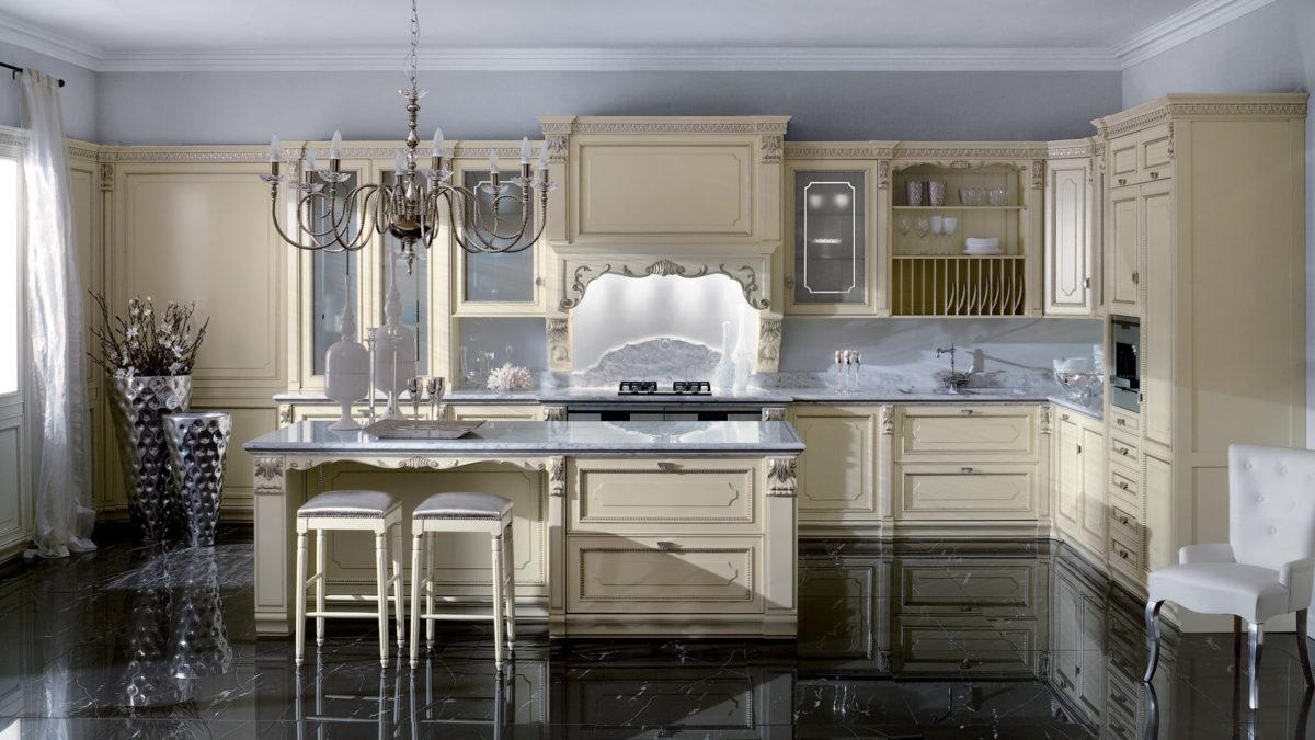 Welke kleur moet de keuken hebben in de klassieke stijl