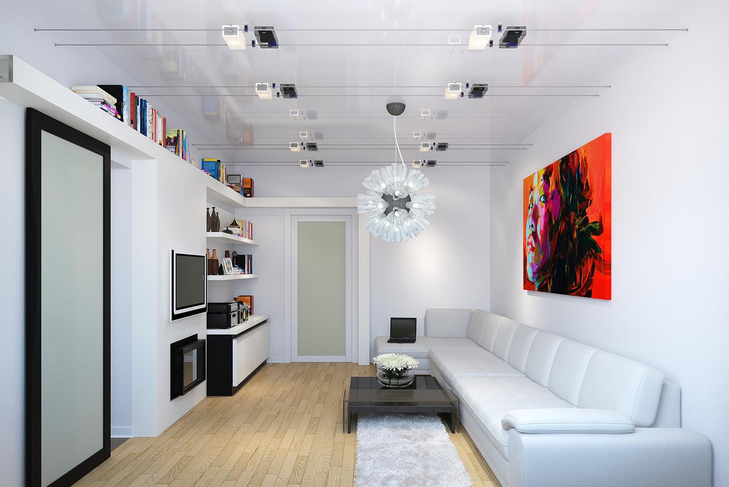 Papier Peint Petit Salon comment équiper l'intérieur du salon 12 m2?
