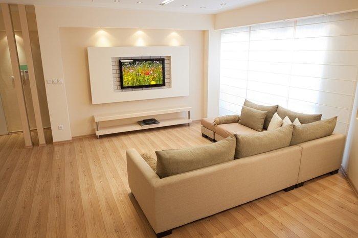 In Dem Geräumigen Schlafzimmer Der Optionen Für Eine Schöne Installation  Ein Paar, Können Sie Eine Originelle Design TV Wand Machen, Stellt Es Sich  Heraus, ...